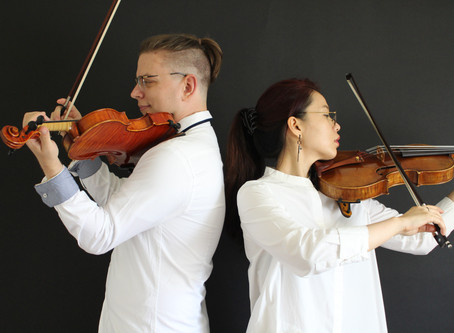The Eight Strings Duo Performs at The Enescu Soirees