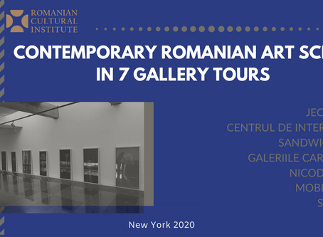 Contemporary Romanian Art Scene in 7 Gallery Tours  - SEASON 1