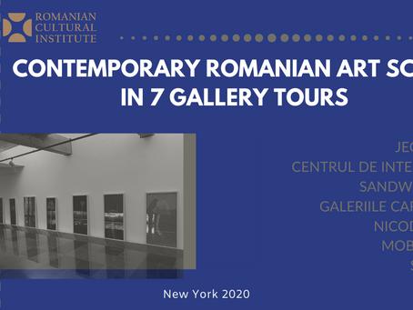 Contemporary Romanian Art Scene in 7 Gallery Tours  - SEASON 1