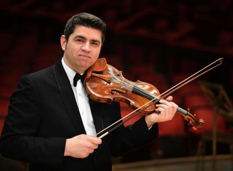 Violin Maestro Remus Azoiței Plays Bach's Chaconne in the Enescu Soirees Online