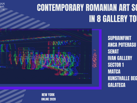 Contemporary Romanian Art Scene in 8 Gallery Tours  | SEASON 2