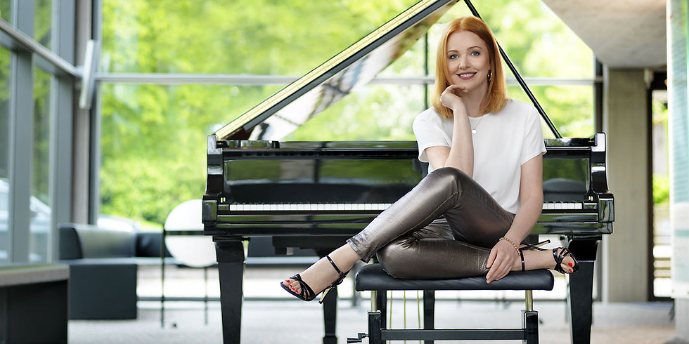"Pianist Sina Kloke in Our ""Enescu Soirees"" Series"