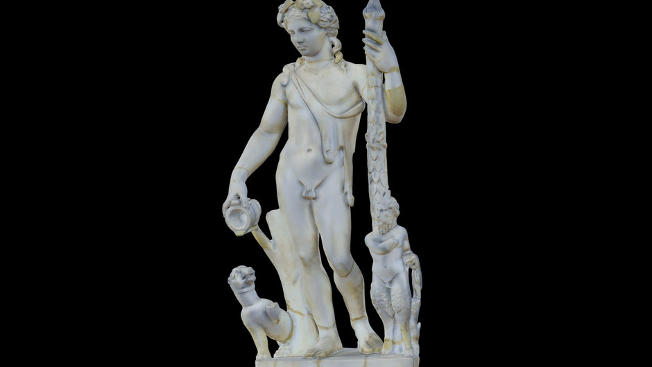 The Statuary Group Liber Pater with Pan and Panther / History of Romania in One Object
