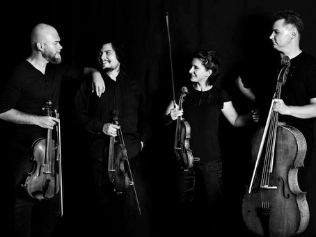 Exceptional Arcadia Quartet Play Beethoven & Dediu for the Enescu Soirees