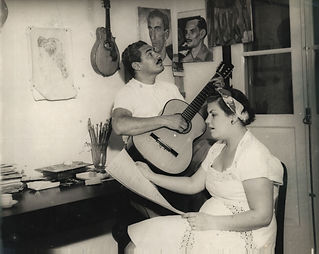 foto_Dorival Caymmi e sua esposa.jpg