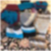 Gestrickte, Gehäkeltes, Mützen, Schals, Socken
