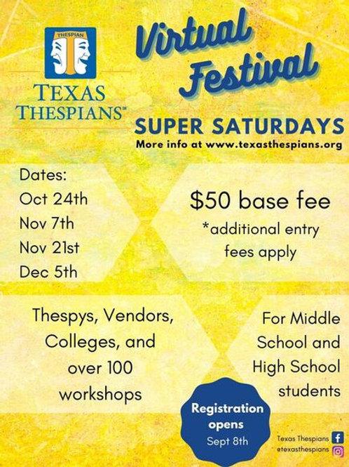 Texas Thespian Virtual Festival