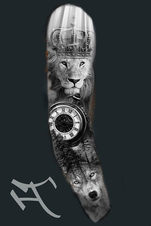 Leijona ja susi
