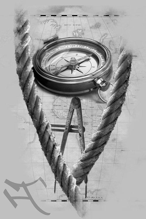 Kompassimalli 1