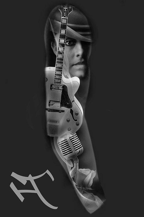 mikki ja kitara, hihan ulkosyrjä