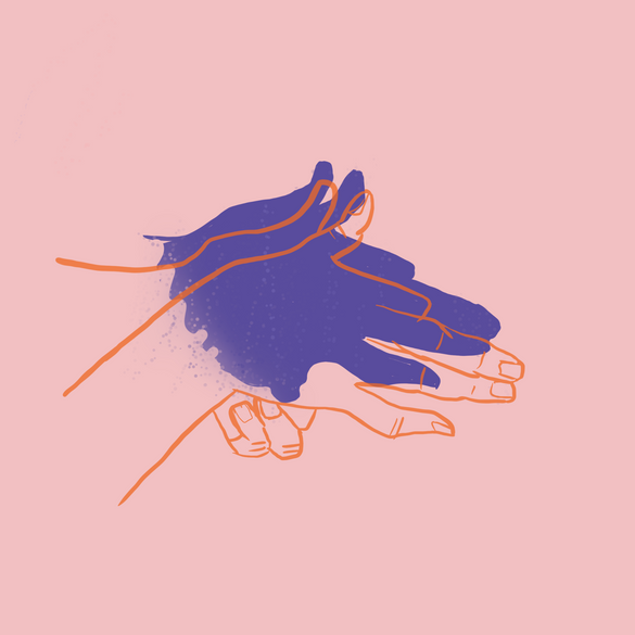 Dog Hand Shadow