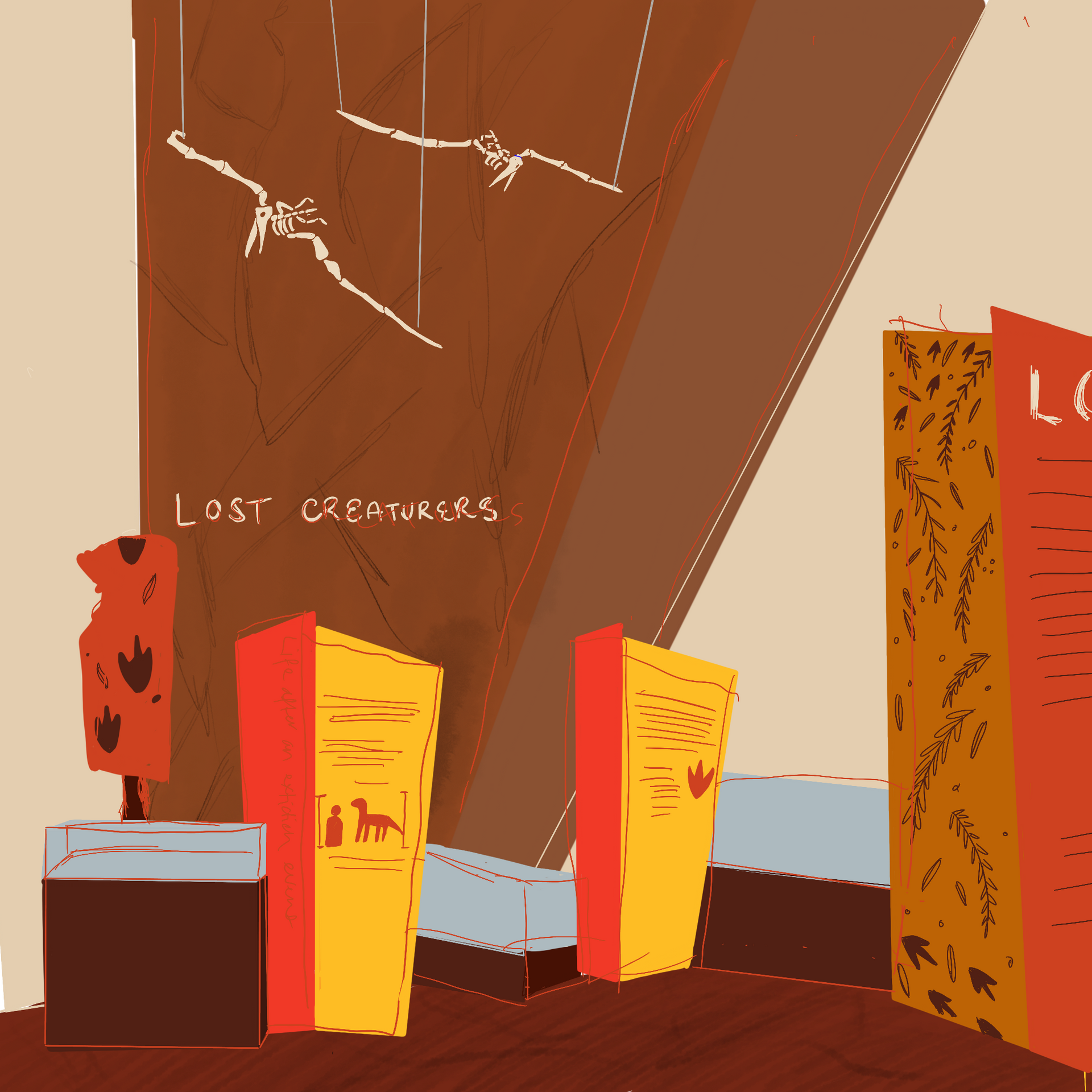 Lost Creatures Exhibition Entry