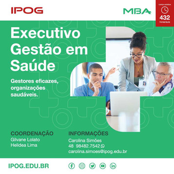 IPOG: MBA Executivo Gestão em Saúde