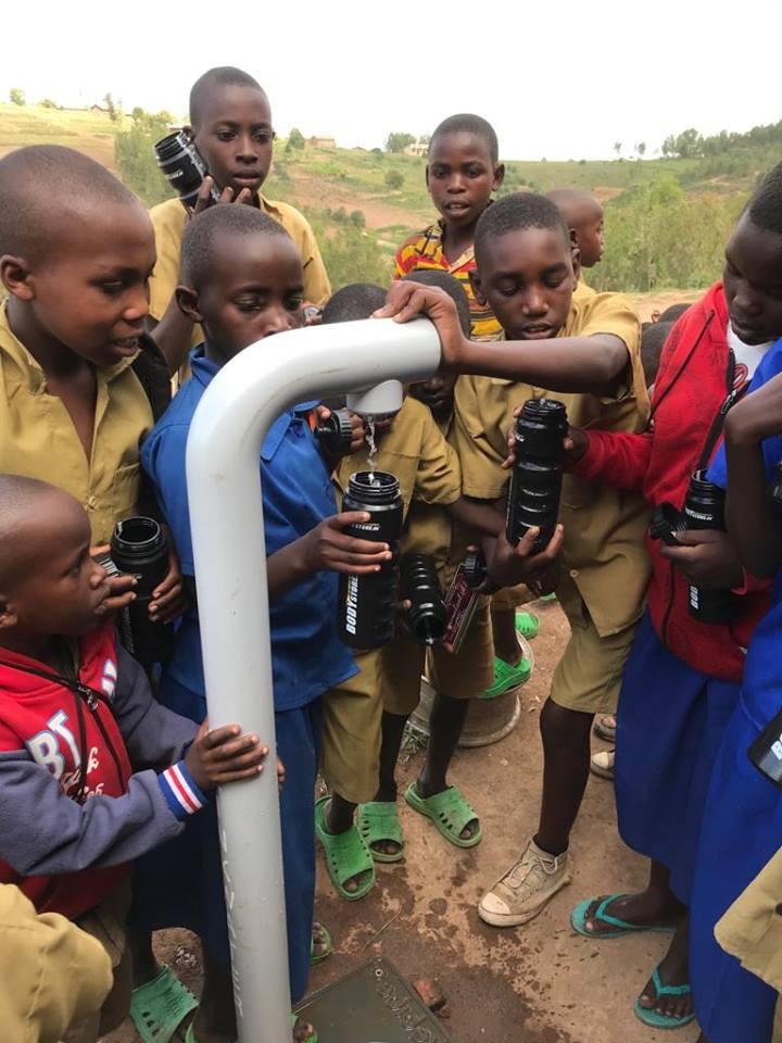 water kiosk tap children