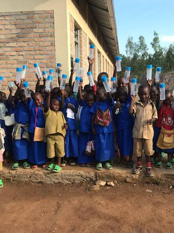 water kiosk children school bottles