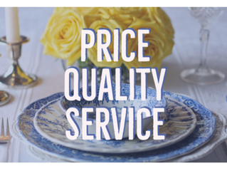 Price, Quality and Service