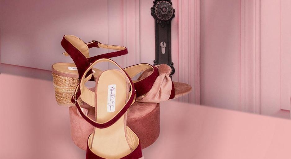 Zapatos de novia vitage