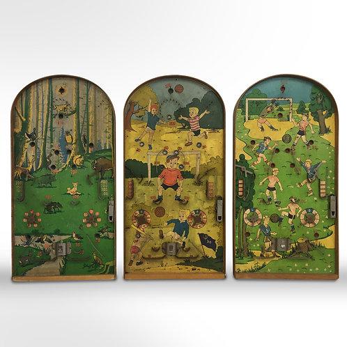 Vintage Pinball Boards - Set of 3