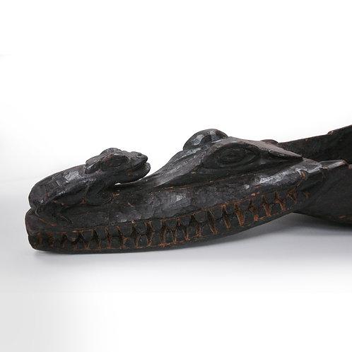 Sepik River Crocodile Canoe Prow