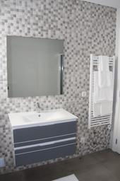 Ensuite bathroom for master bedroom