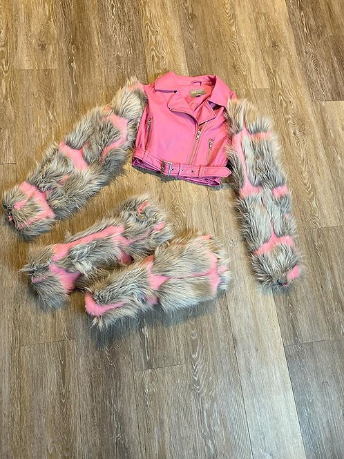 Pretty Gang Fur Set