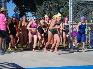 The swim start 2015