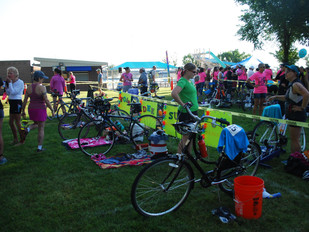 Transition area.  Where it all starts and ends.