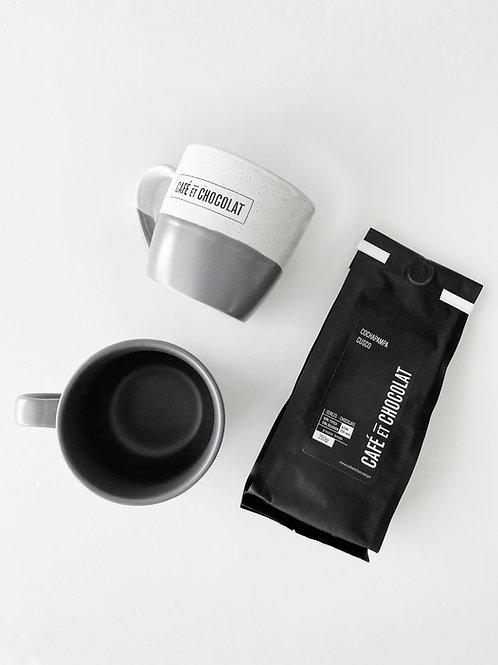 combo bolsa de cafe mas taza