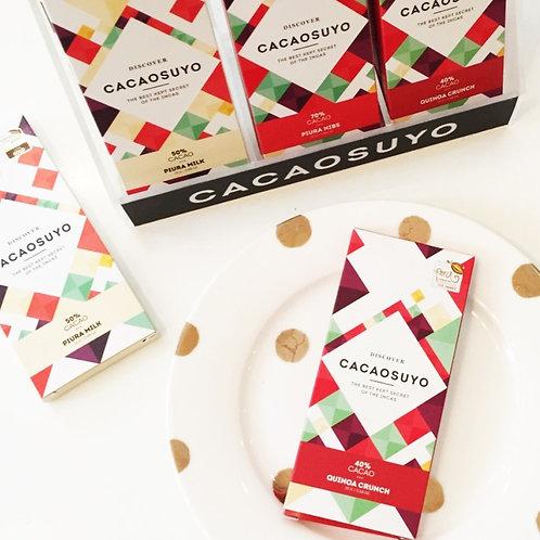 BARRA DE CHOCOLATE CACAOSUYO