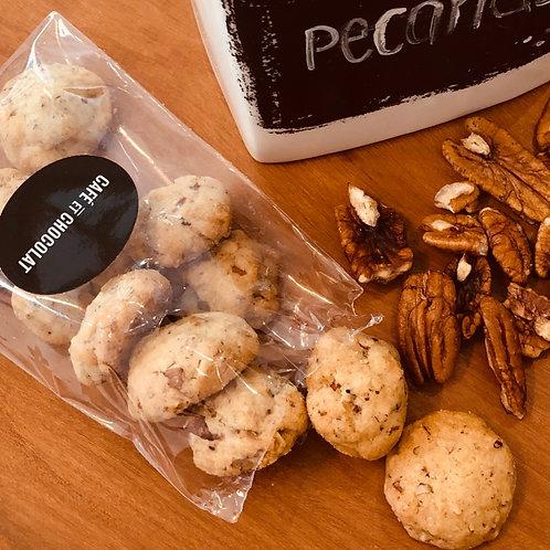 bolsa de galletas de pecanas