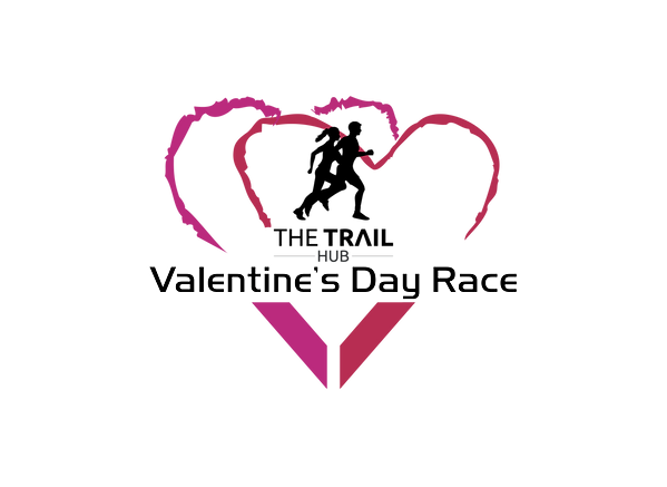 The trail Hub Valentines Race Logo 2018-