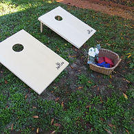 Giant Cornhole Game