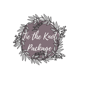 Tie the knot package transparent backgro