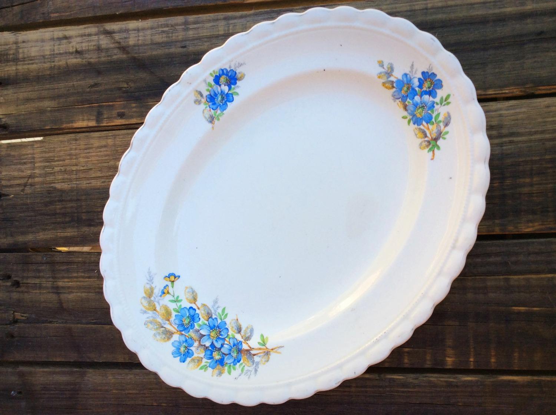 Vintage Serving Platters