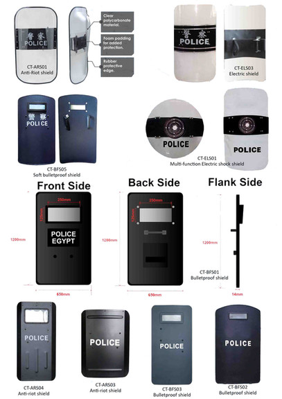 Protective shields