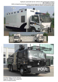 Anti-riot vehicles