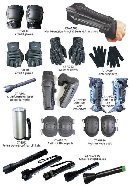 Supplementary anti-riot products