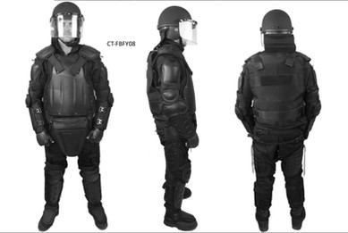Anti-riot suits