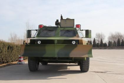 Wheeled 4X4 armored anti-riot vehicle