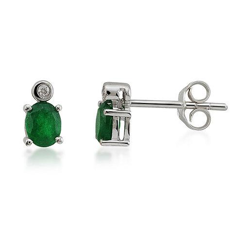 Diamond & Quartz Earring