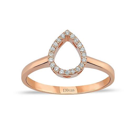 Gemstone Drop Ring