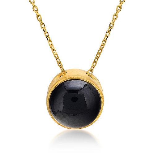 Black Spinel Necklace