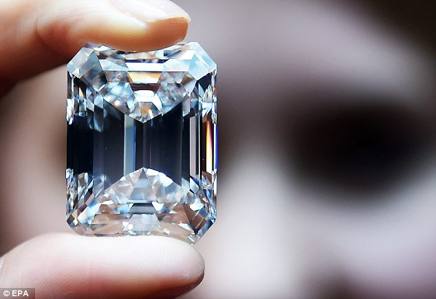 How large the diamond has to be?