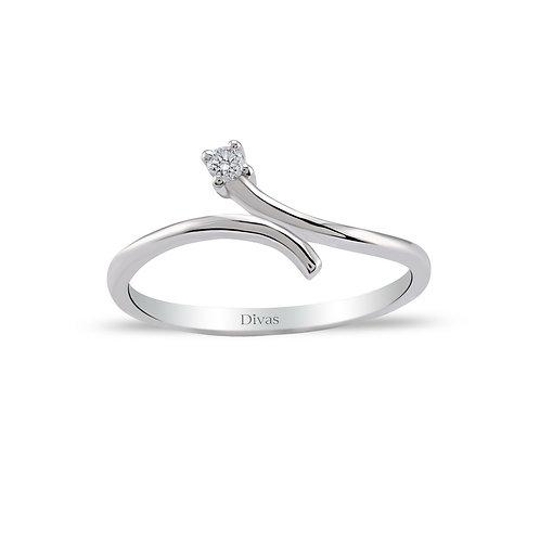 Diamond Solitaire Design Ring