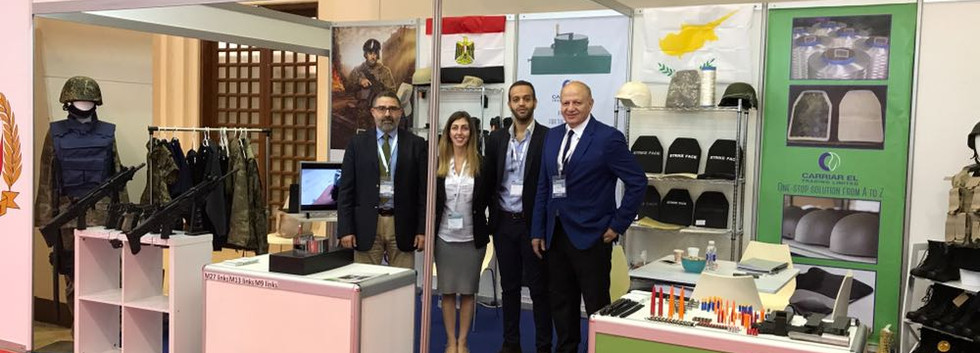 Bidec 2017, Carriarel Trading Ltd booth