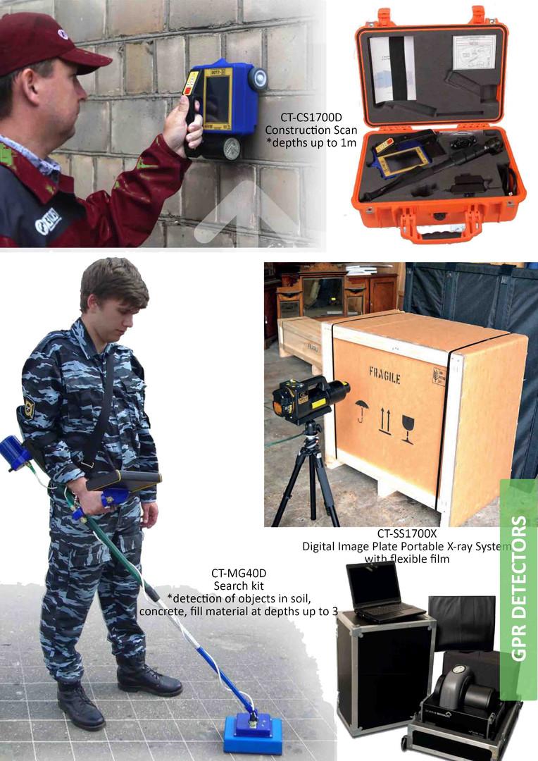 GPR detectors