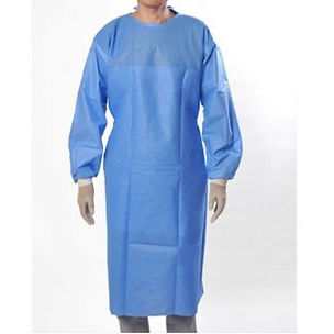 Protective medical gown