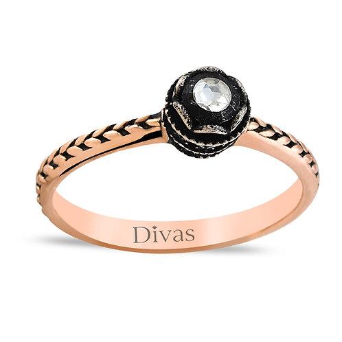 Diamond Solitaire Designer Ring