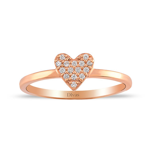 Heart Stones Ring