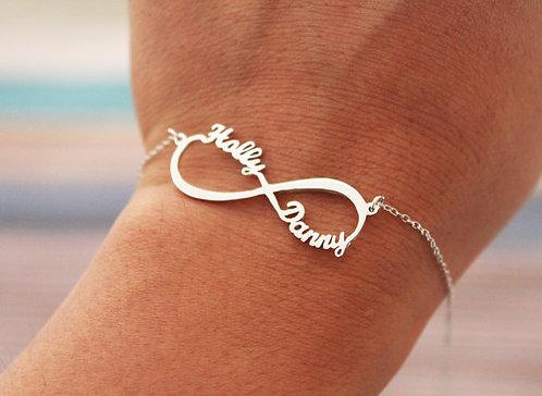 Personalized Infinity Jewelry